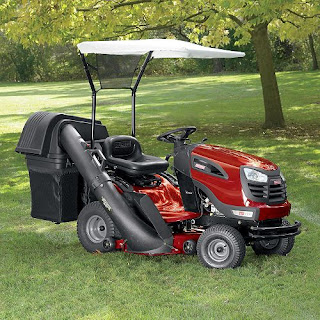 Grass Bagger For Riding Mower And Lawn Mower