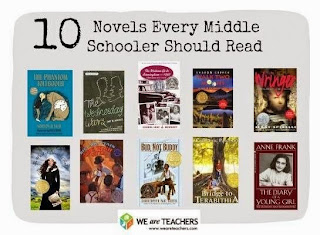 A list of top ten books every middle schooler should read.