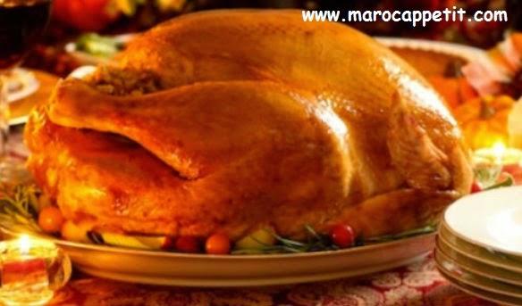 Dinde traditionnelle de Noël | Traditional Christmas turkey