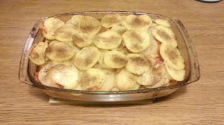 ZAPIEKANKA JACKA - zapiekanka z ziemniakami i udkami z kurczaka