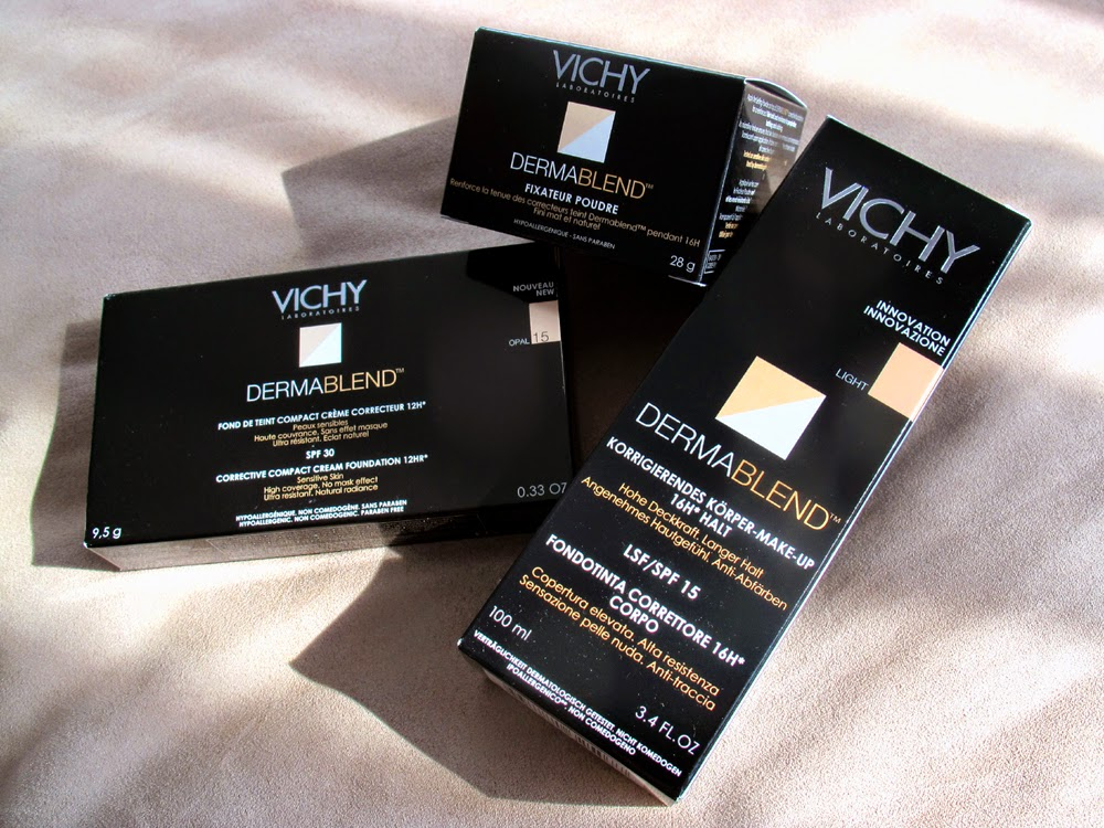 Vichy Dermablend corrective compact cream foundation