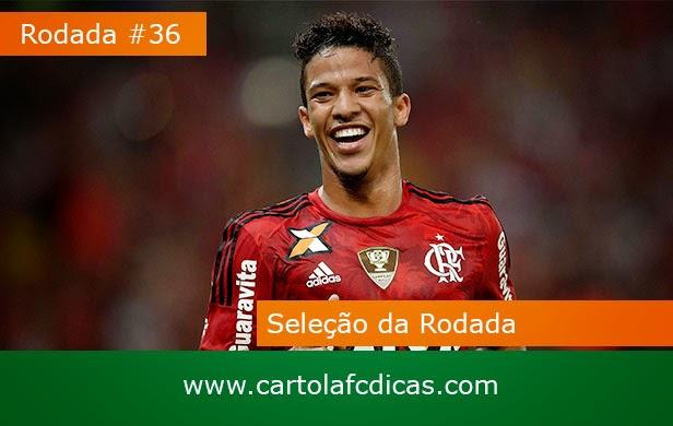 Confira a Seleção da rodada 36 do CartolaFC