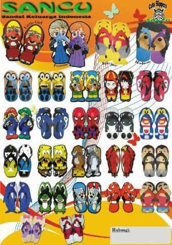 Sandal Lucu