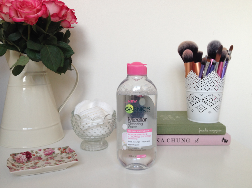UK lifestyle blogger UK beauty blogger review swatch garnier micellar cleansing water bioderma