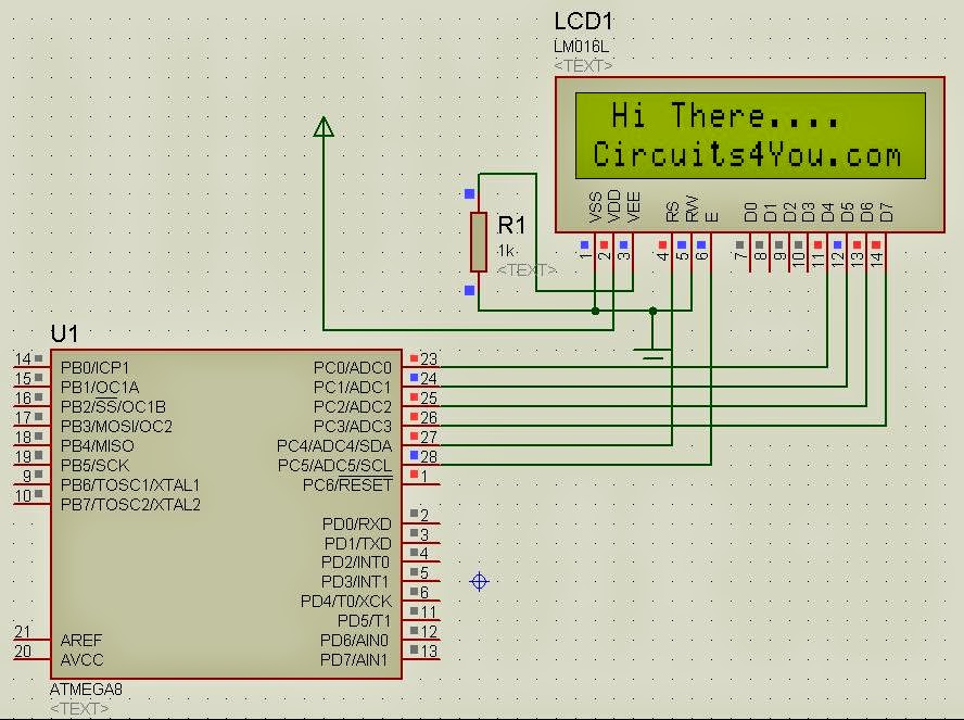 circuits4you com atmega8 interfacing with 16x2 lcd in 4 bit mode rh blog circuits4you com