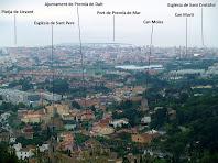 Vista panoràmica des del Turó de Dos Pins