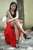 Meghasri glamorous photos in red-thumbnail-5