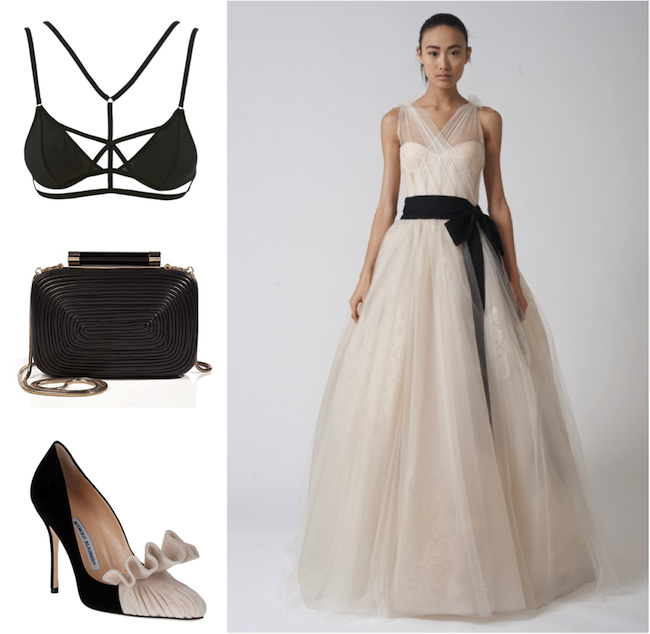 Leather Up: Vera Wang Spring Bridal 2014 | The Bridal Collective Blog