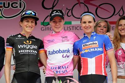 CICLISMO EN RUTA - Giro d'Italia Rosa femenino 2015