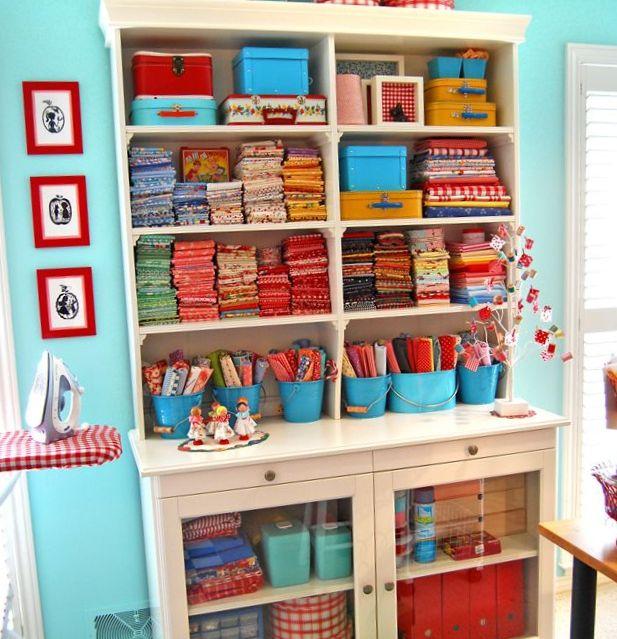 Dulces pilukas craft room ideas para organizar tu - Ideas para ordenar la casa ...