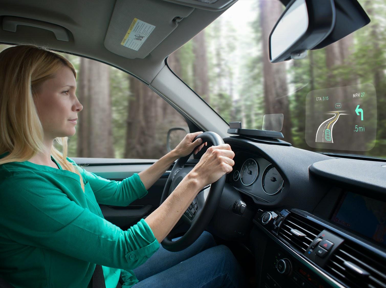 Il navigatore per auto del futuro?