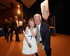 Chloe joins Governor Corbett at the Special Ed Reform Bill signing!