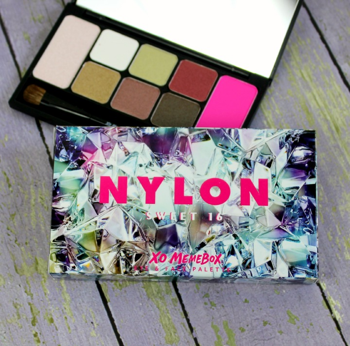 XO Memebox X Nylon #ItGirlPalette