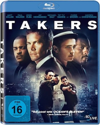 Takers 2010 Hindi BluRay Download