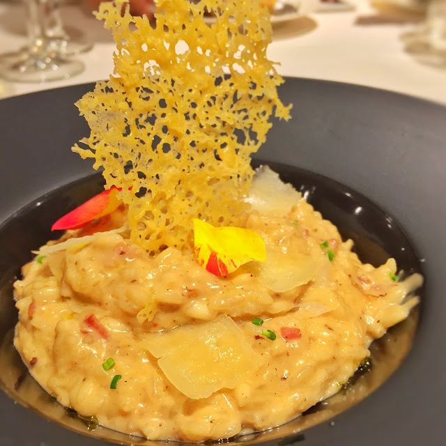 The Royal Mail Singapore - Porcini & Bacon Risotto
