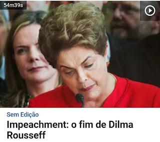 O dia em que Dilma teve o mandato de Presidente, cassado.