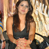 Prabhjeeth Kaur Hot Photo Gallery in Short Dress at Intelligent Idiot Movie Logo Launch 39