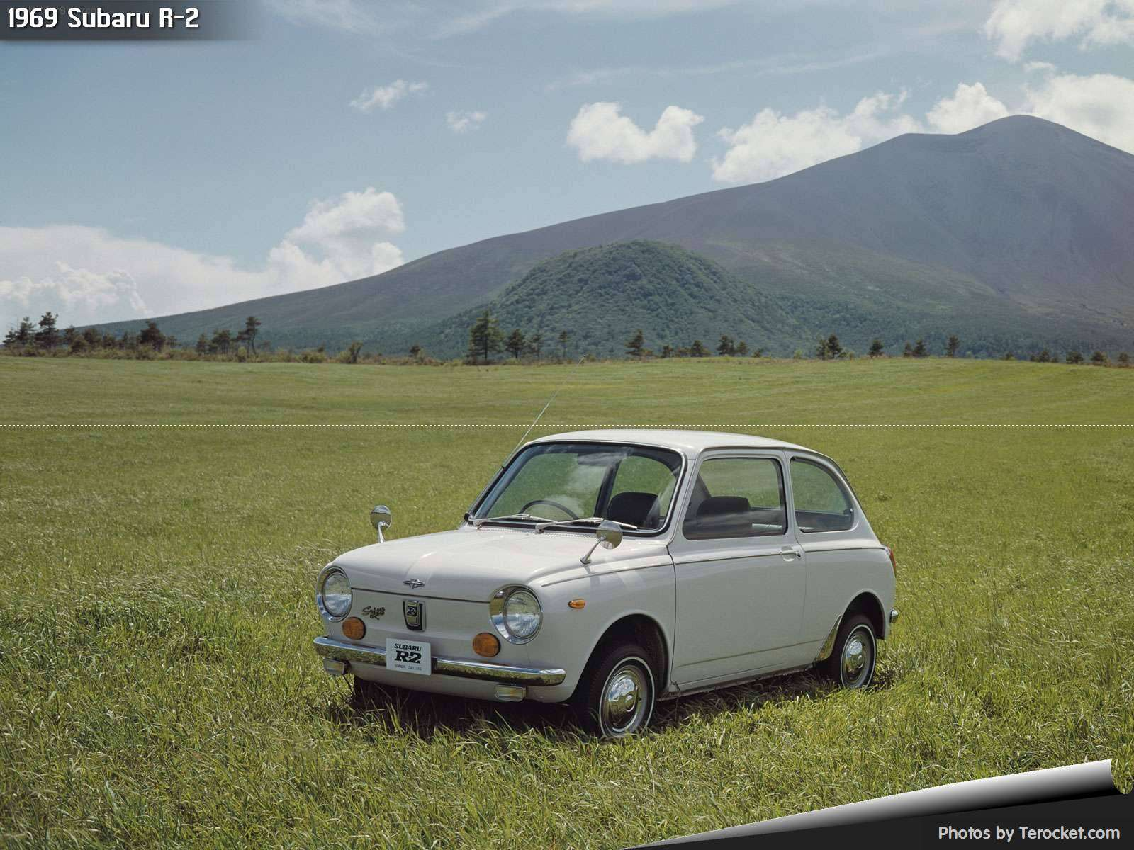 Hình ảnh xe ô tô Subaru R-2 1969 & nội ngoại thất
