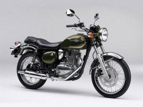 Foto Kawasaki Estrella 250 2014, Desain Klasik Teknologi Terkini Siap  title=