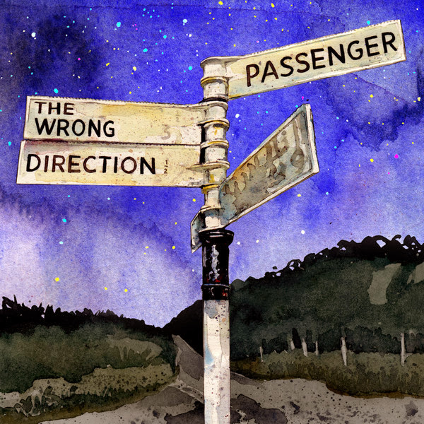 Passenger - The Wrong Direction - Single Cover