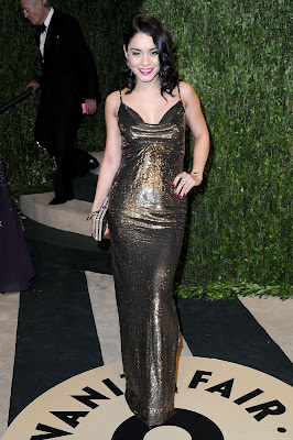 Vanessa Hudgens Hot at Vanity Fair Oscar Party in Hollywood  5 Pics