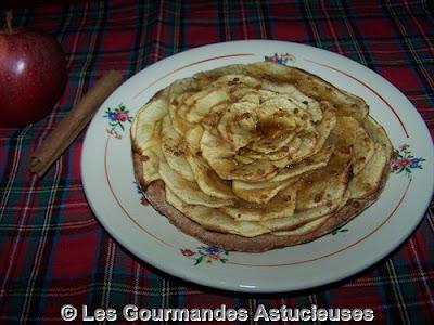 Comment faire une tarte fine aux pommes ?
