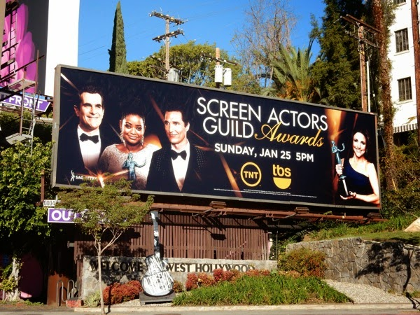 2015 Screen Actors Guild Awards billboard