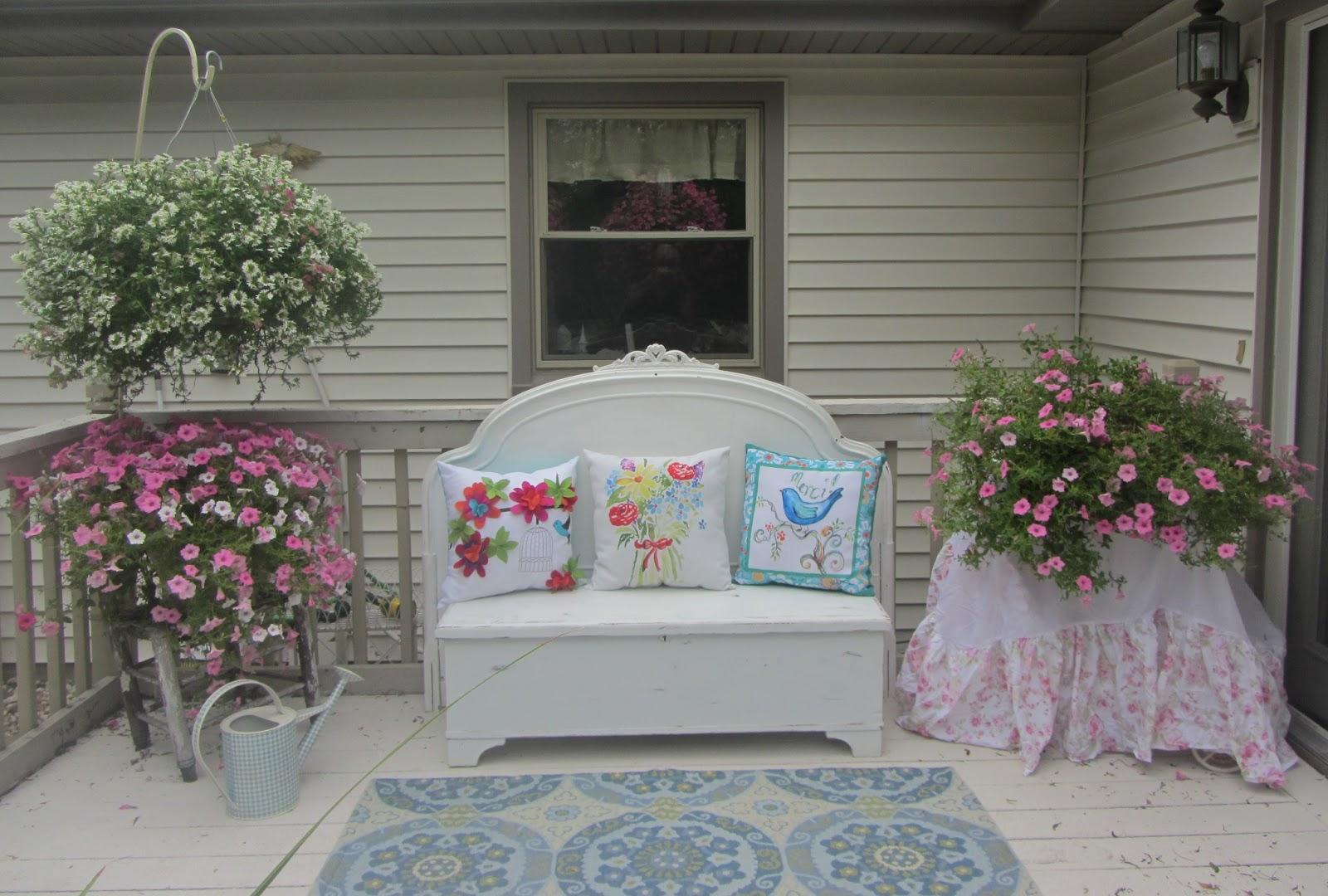 Junk chic cottage - Shabby chic giardino ...