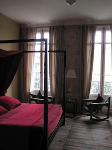 La chambre de Mathieu Mercier