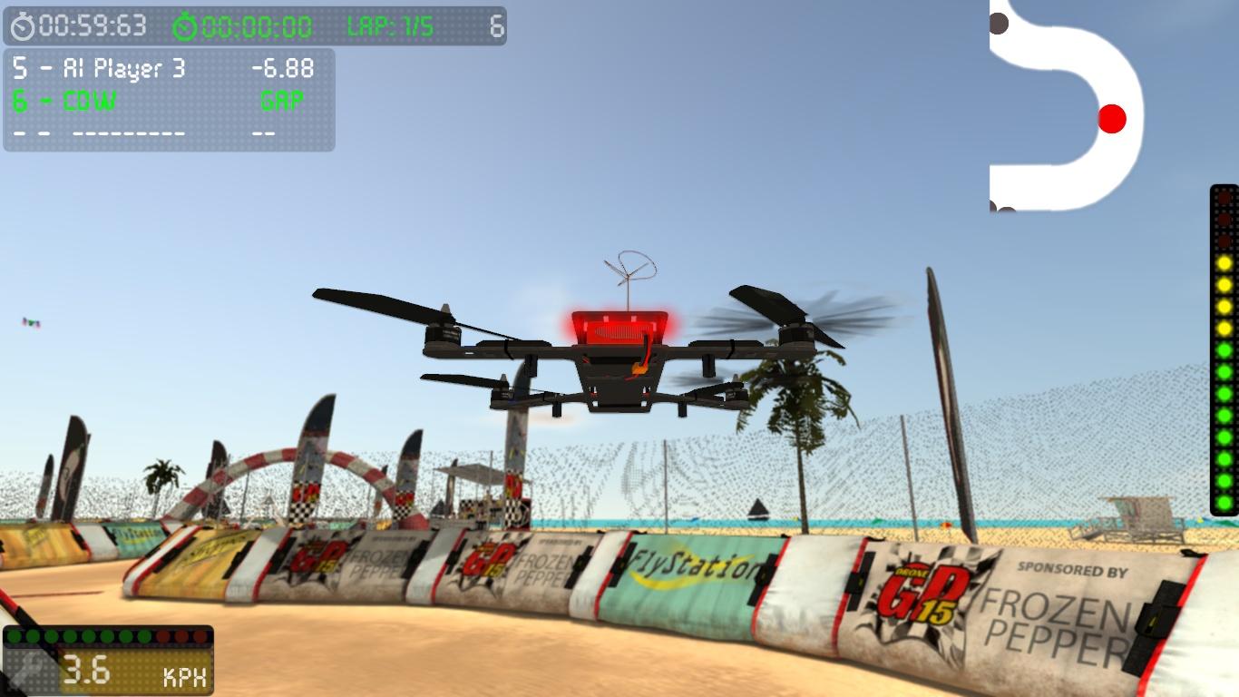 DroneGP 15 Alpha