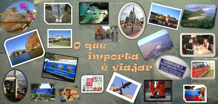 O que importa é viajar!