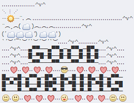 good morning facebook