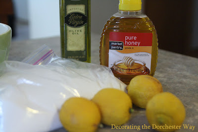 Honey Lemon Sugar Hand Scrub