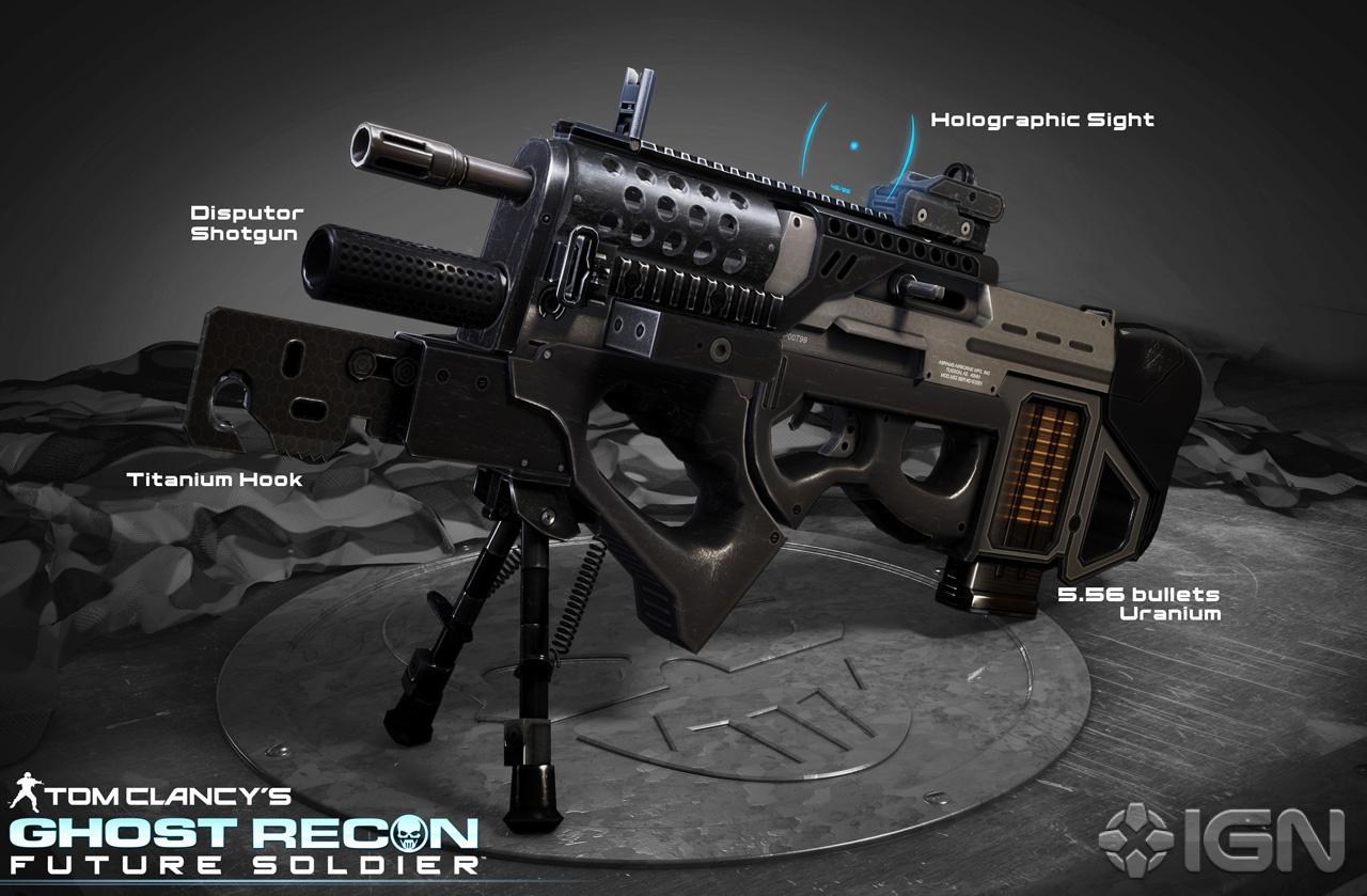 Gani Video Games: Ghost Recon Future Soldier