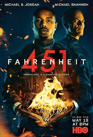 Poster Of Hollywood Film Watch Online Fahrenheit 451 2018 Full Movie Download Free Watch Online 300MB
