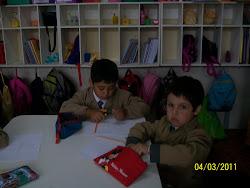 Bienvenidos 1° 2011