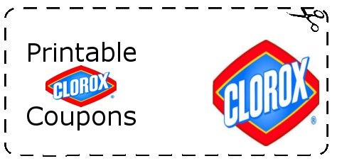 Clorox printable coupons