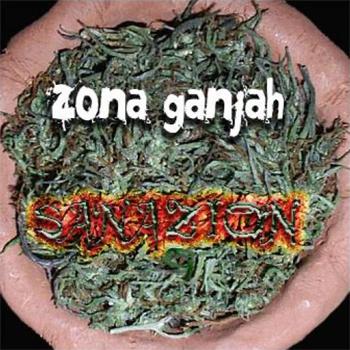 Zona Ganjah portada disco sanazion album sanazion Zona Ganjah cover album sanazion Zona Ganjah
