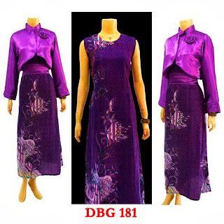 Dress Baju Batik Muslim