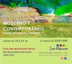 MAYO: Inicia Taller Moderno y Contemporáneo. Dibujo y Pintura por Robert Verf