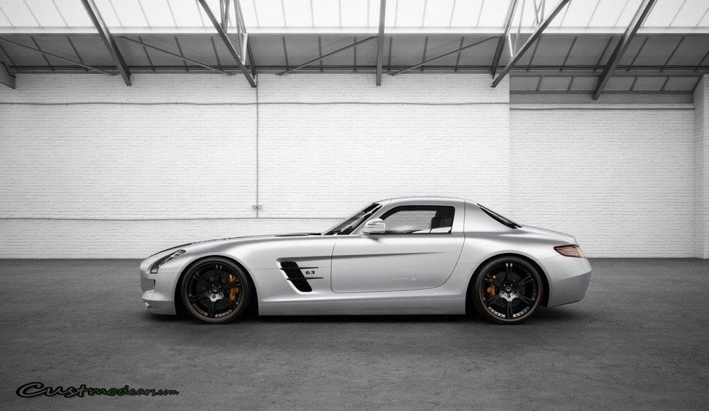 635hp mercedes benz sls amg silverstar by wheelsandmore for Mercedes benz silver star