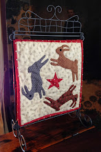 Calendar Quilt/Table Stand 2014 BOM