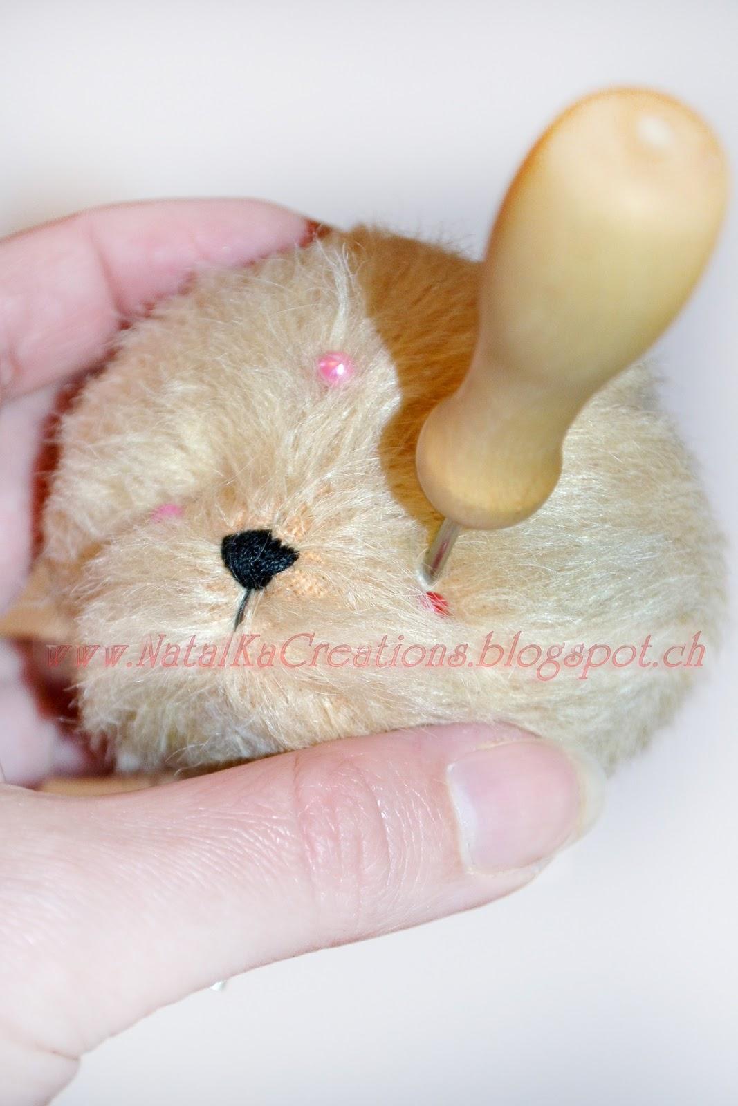 Онлан мастер-класс по пошиву мишки тедди, совместный пошив мишки тедди, как пошить мишку тедди,  шьем вместе мишку тедди с NatalKa Creations