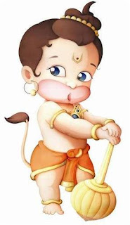 Picture Story of Birth of Hanuman
