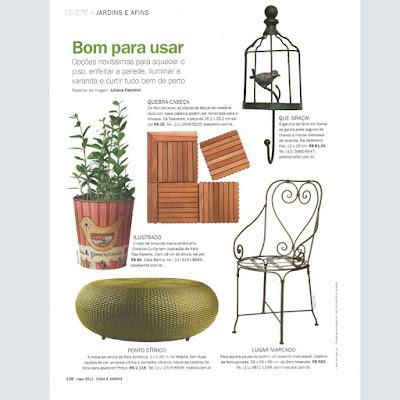 Cadeira de Ferro Forjado - Charme verde provençal