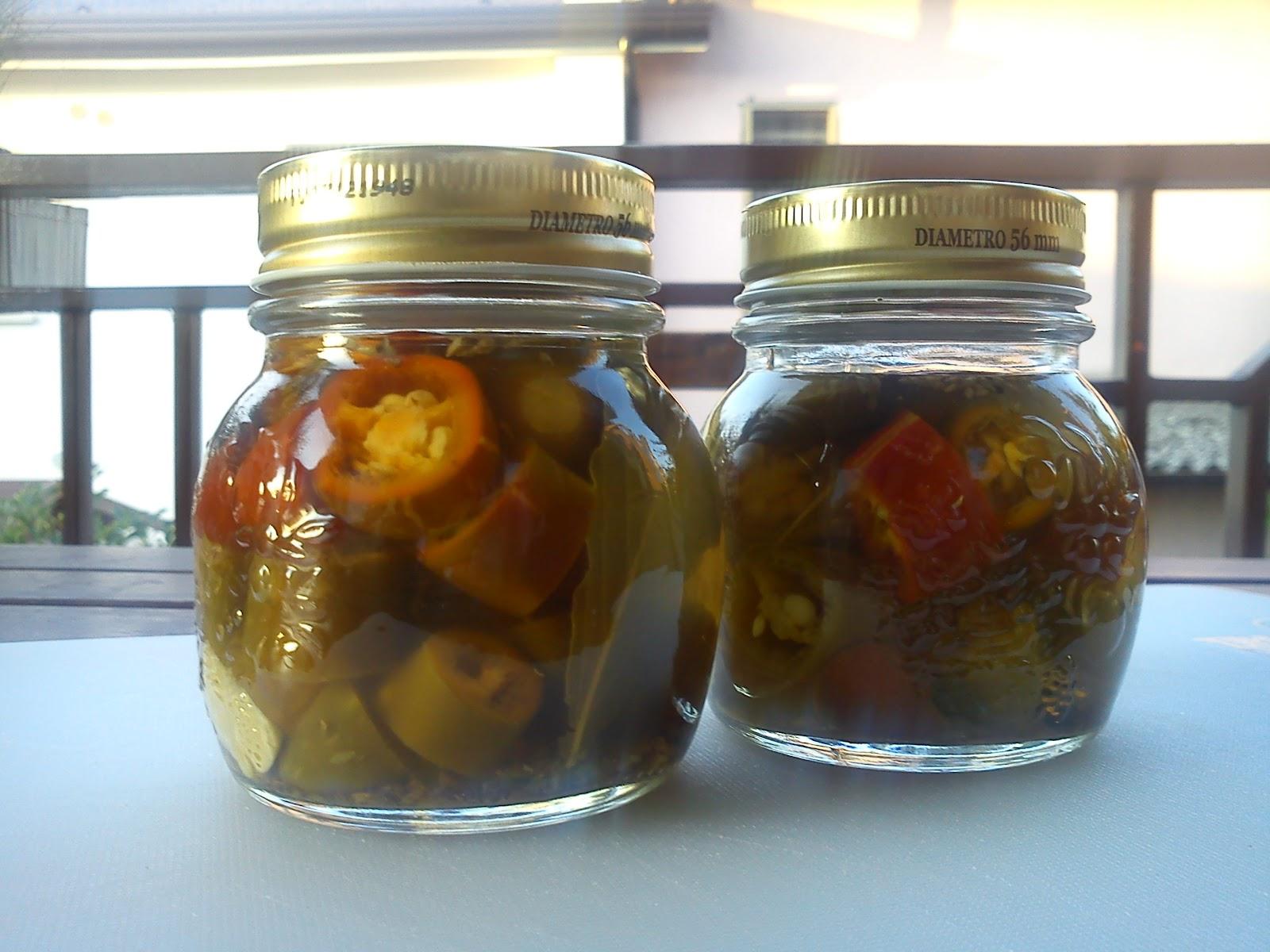 La mela stregata mi chile 2 ovvero jalapeno sotto aceto for Cucinare jalapeno