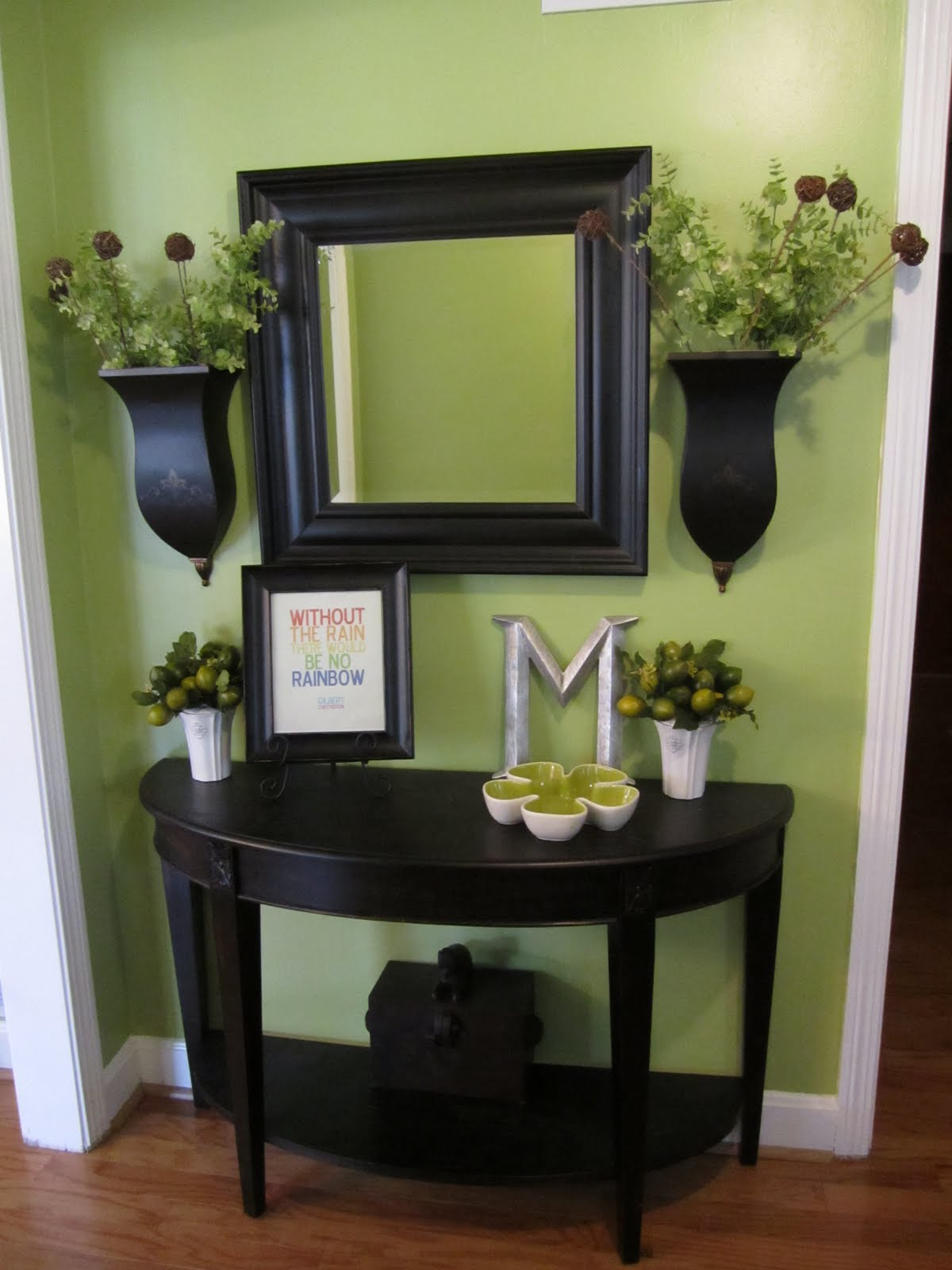 Entryway ideas for school interior home design home Small entryway table
