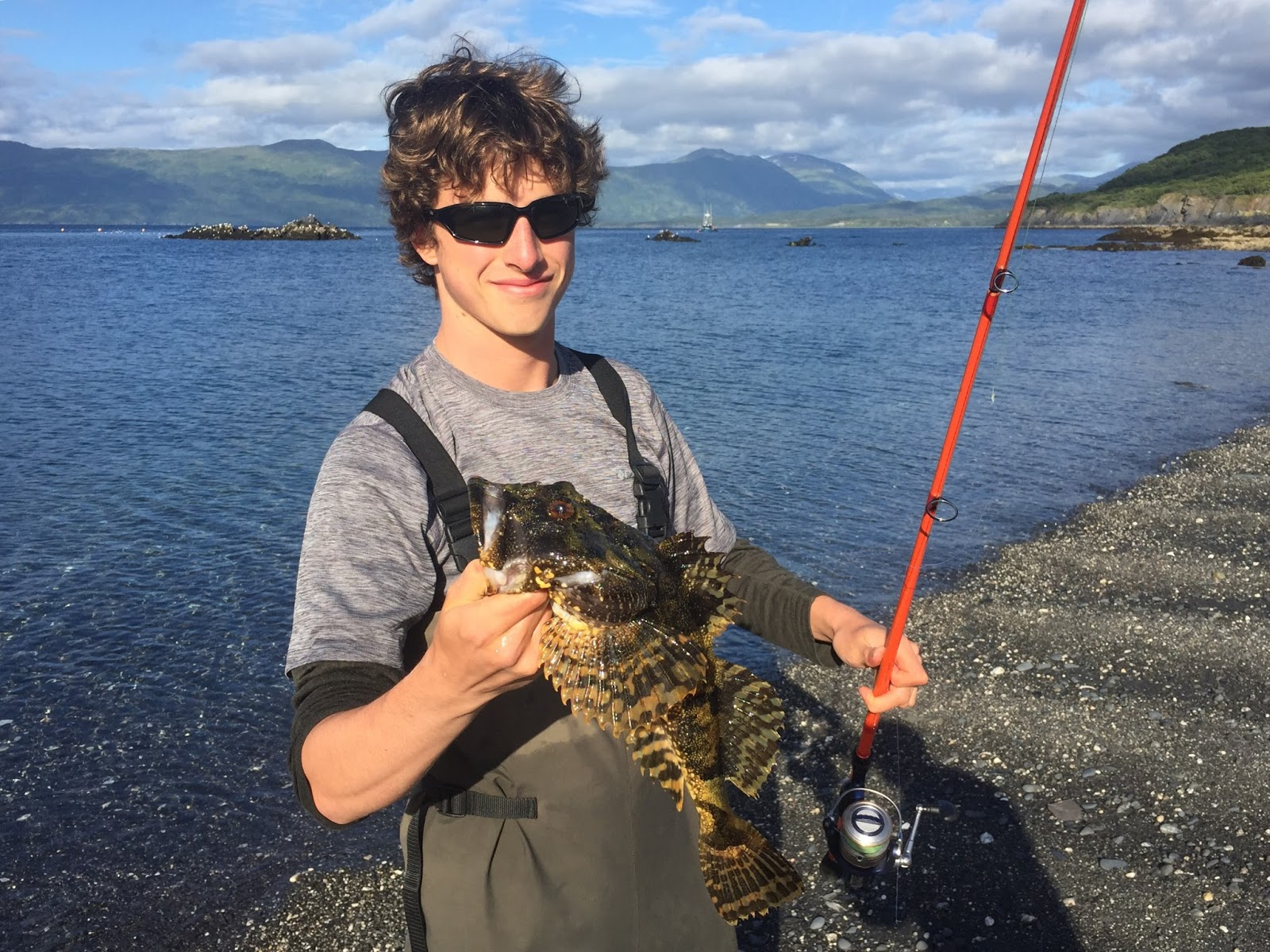 how to catch pacific staghorn sculpin