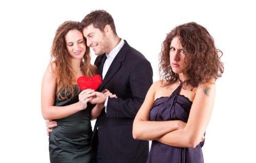 Destroy Valentine's Day? - jealous woman - jealousy