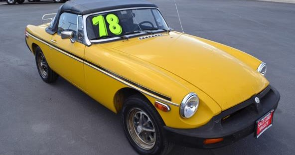 on the road with zoom throwback thursday 1978 mgb roadster. Black Bedroom Furniture Sets. Home Design Ideas